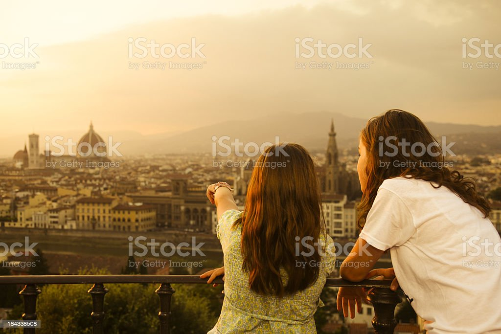 Discovering Firenze royalty-free stock photo