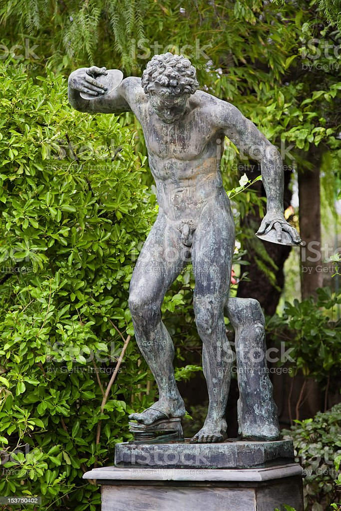 Discus Thrower royalty-free stock photo