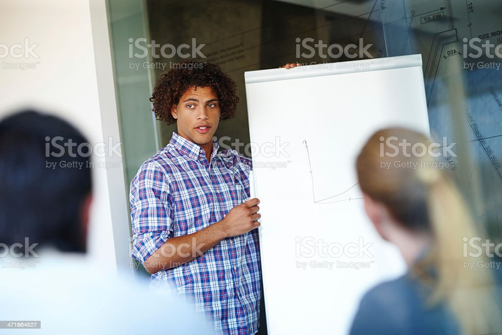 Discussing sound business policy royalty-free stock photo
