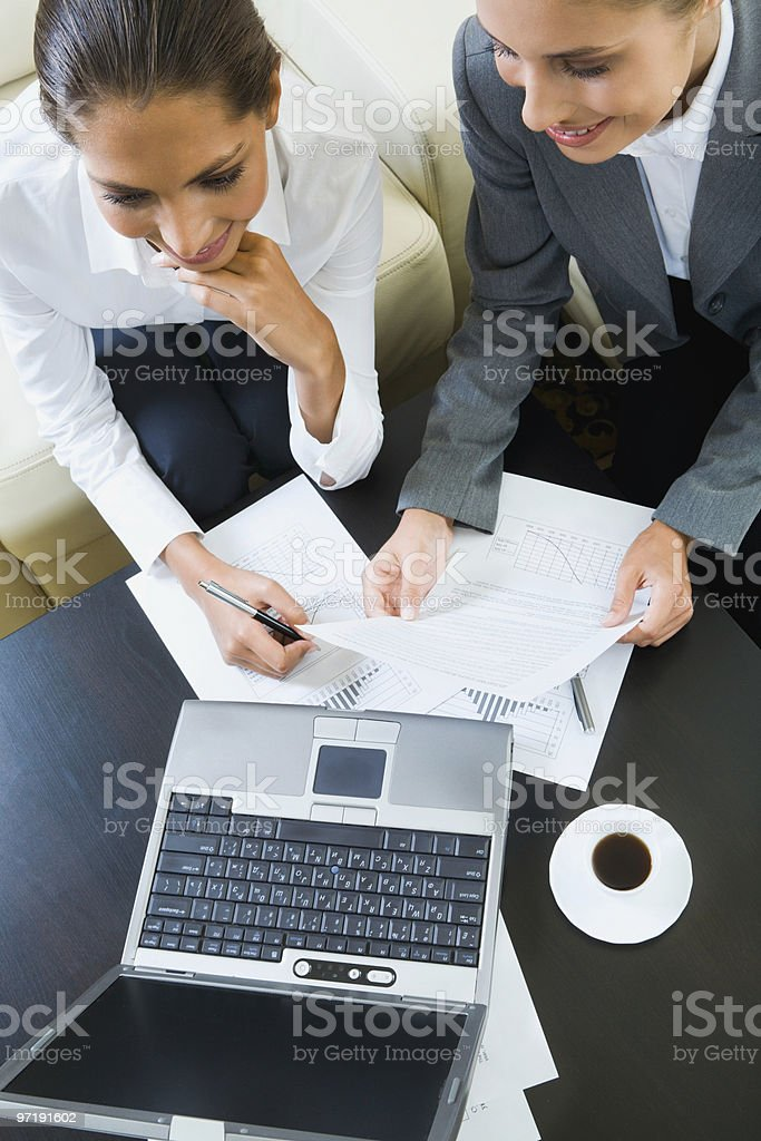 Discussion business ideas royalty-free stock photo