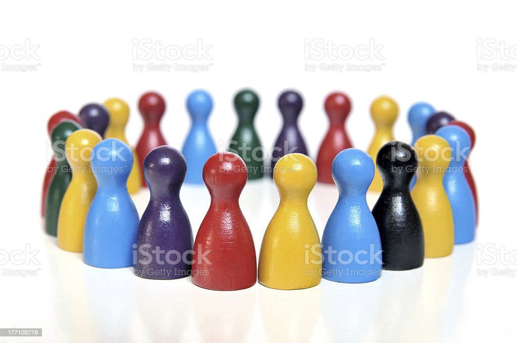 Discussion Forum stock photo