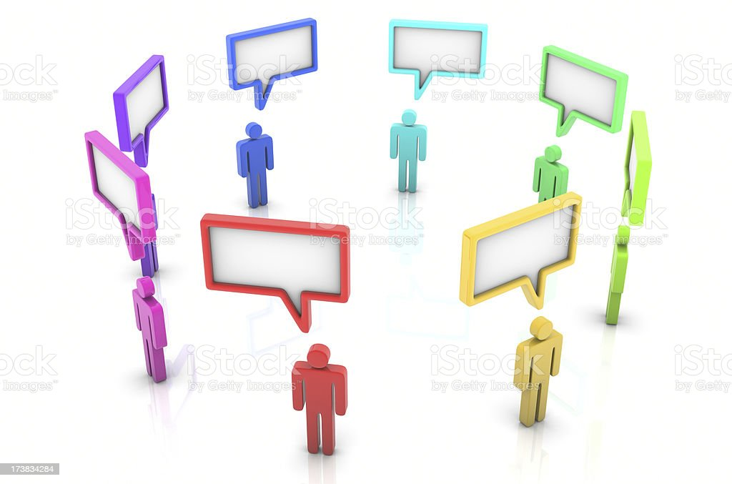 Discussion royalty-free stock photo