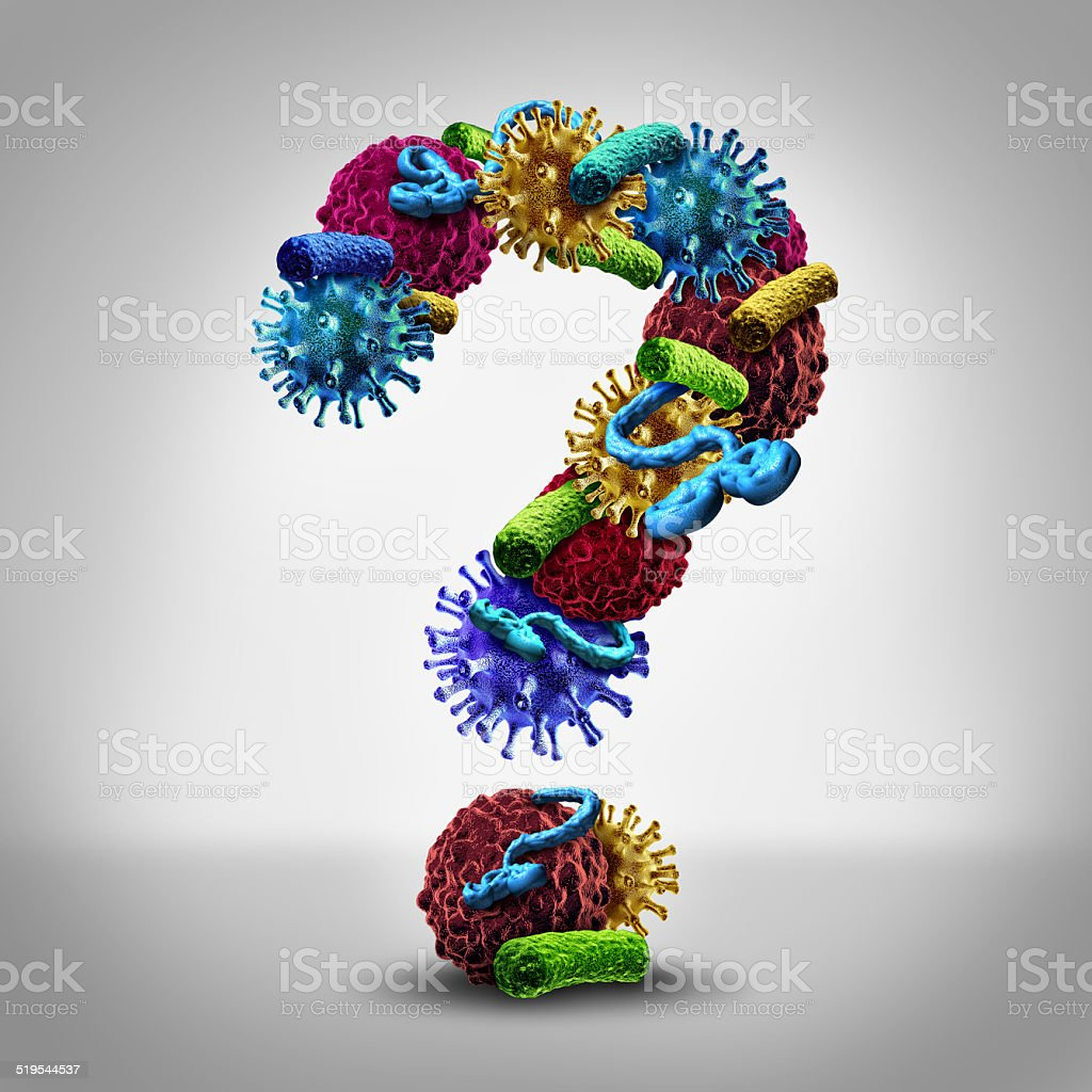 Disease Questions stock photo