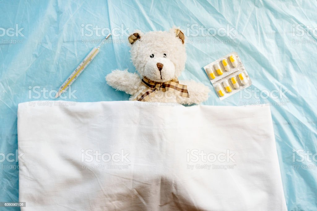 disease state, flu or cold stock photo