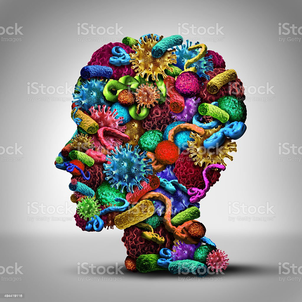 Disease Thinking stock photo