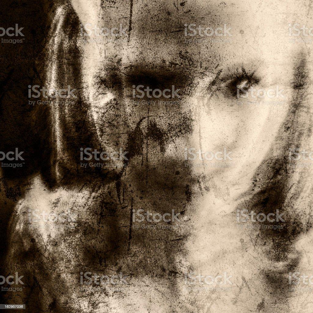 Disfigured stock photo