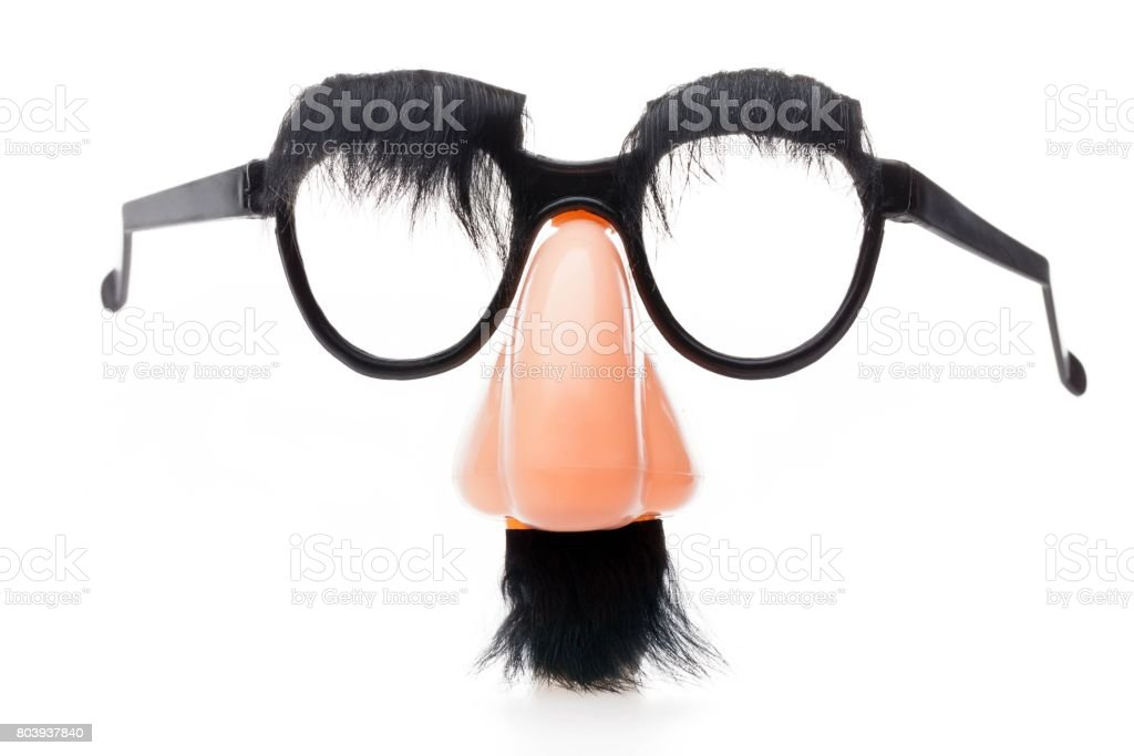 Disguise. stock photo