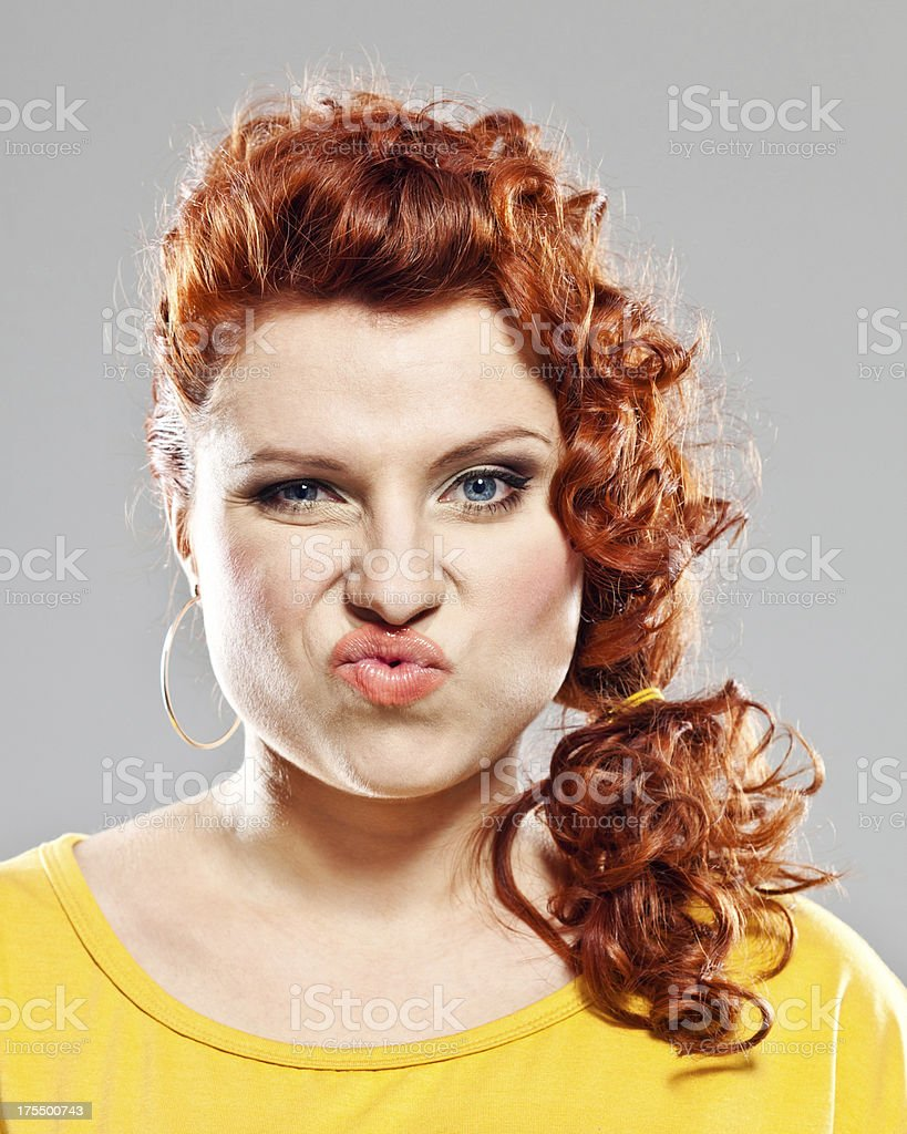 Disgust royalty-free stock photo