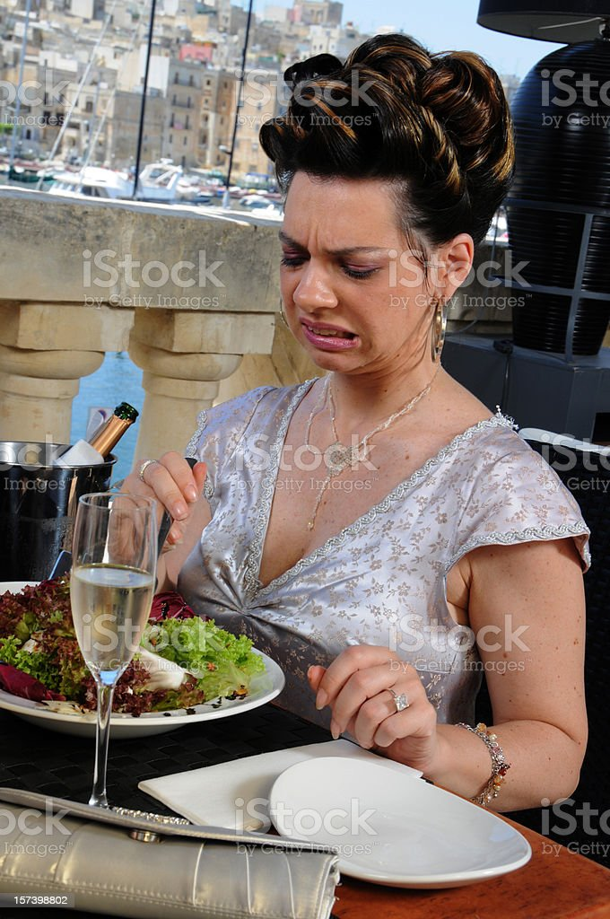 disgusting food royalty-free stock photo