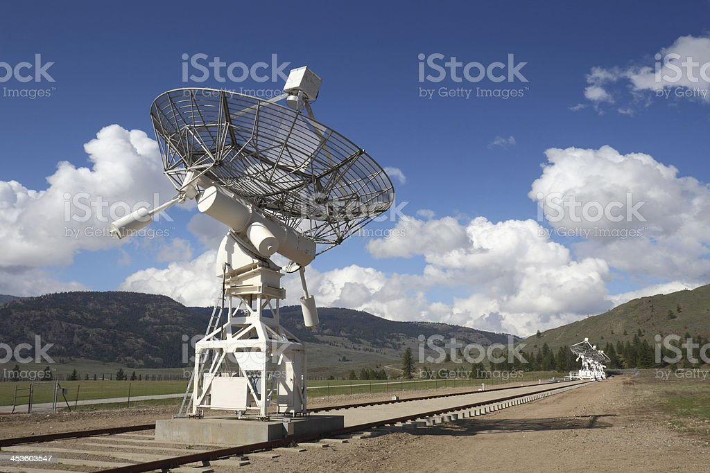 Dish Array, Dominion Radio Astrophysical Observatory royalty-free stock photo