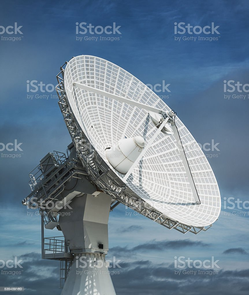 Dish in the Sky stock photo