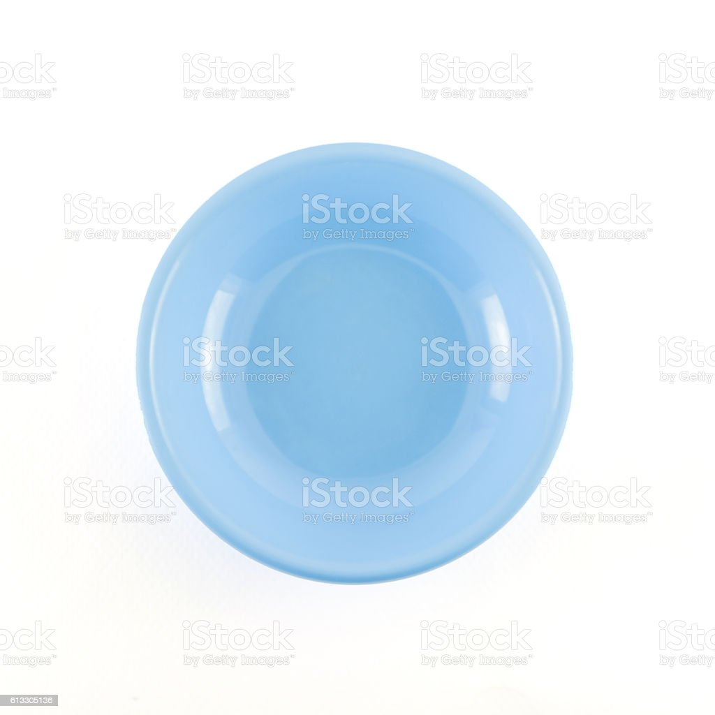 dish on white background stock photo