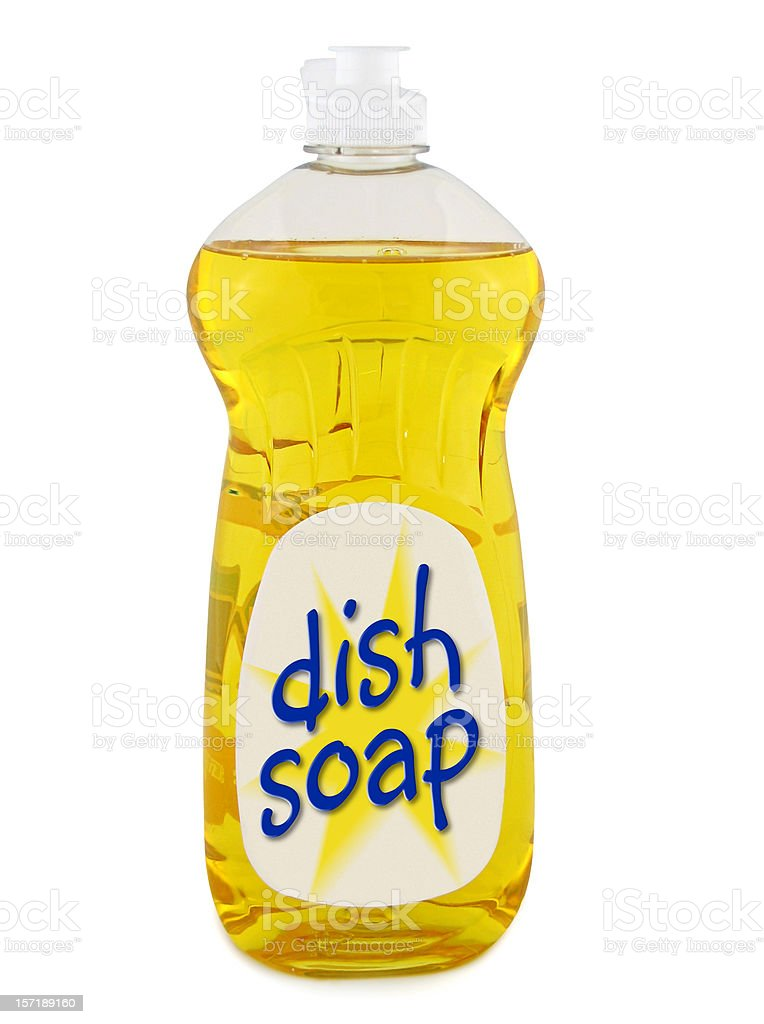 Dish Soap (with clipping paths) royalty-free stock photo