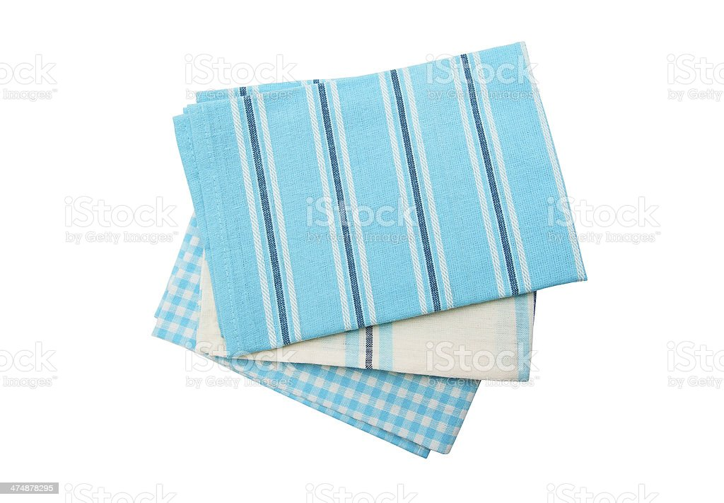 Dish towels royalty-free stock photo