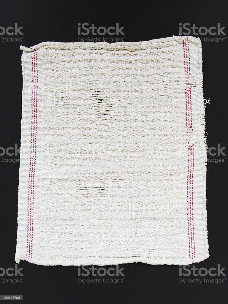 Dishcloth royalty-free stock photo
