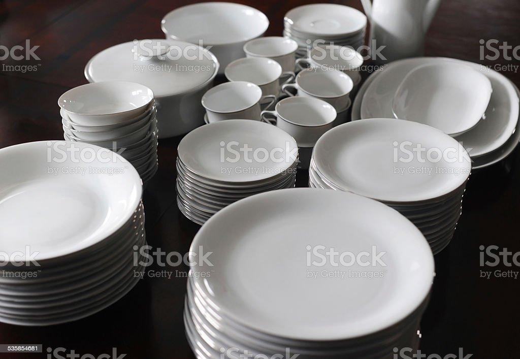 Dishware stock photo
