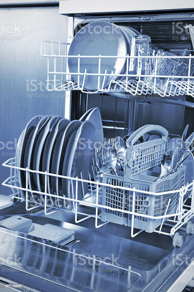 Dishwasher royalty-free stock photo
