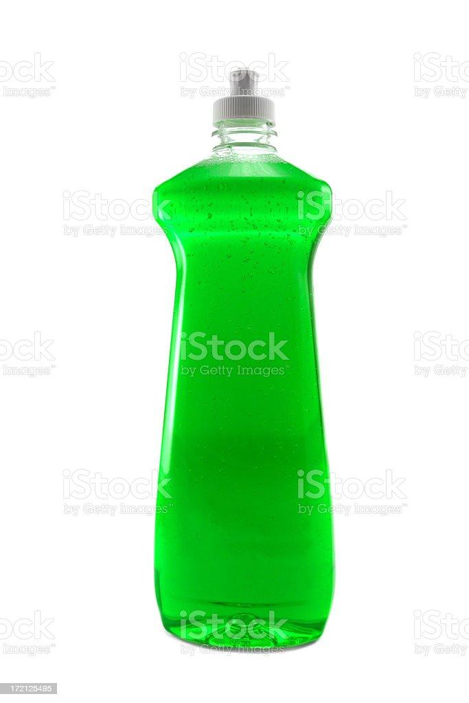 Dishwashing soap royalty-free stock photo