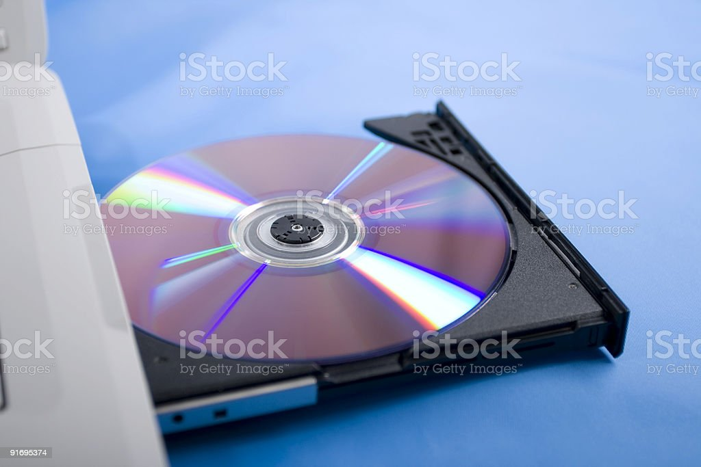 Disk drive royalty-free stock photo