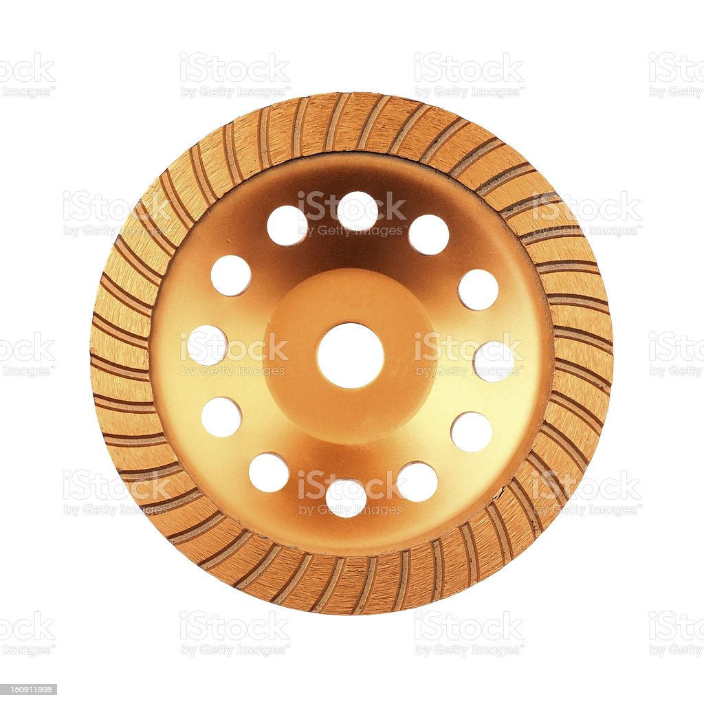 Disk for grinder royalty-free stock photo