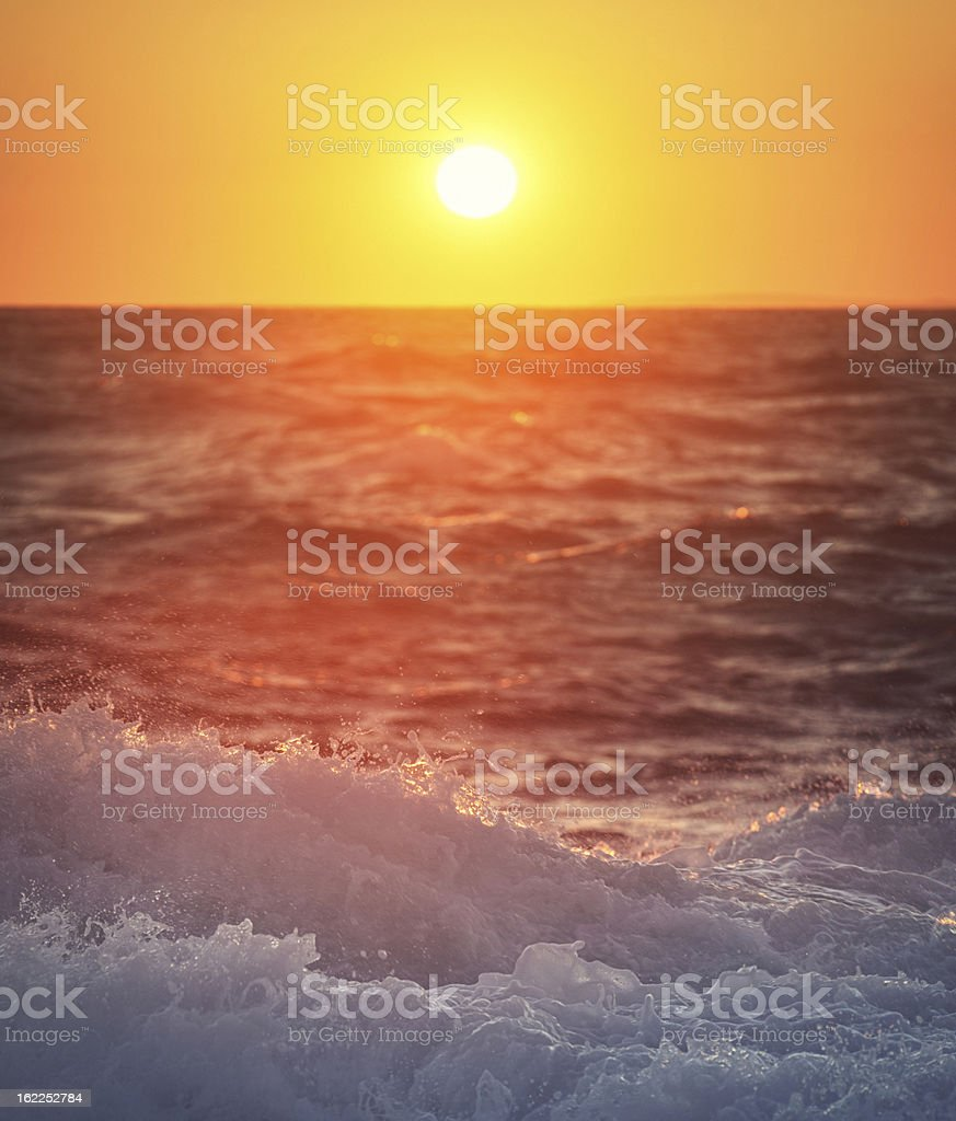Disk of Light royalty-free stock photo