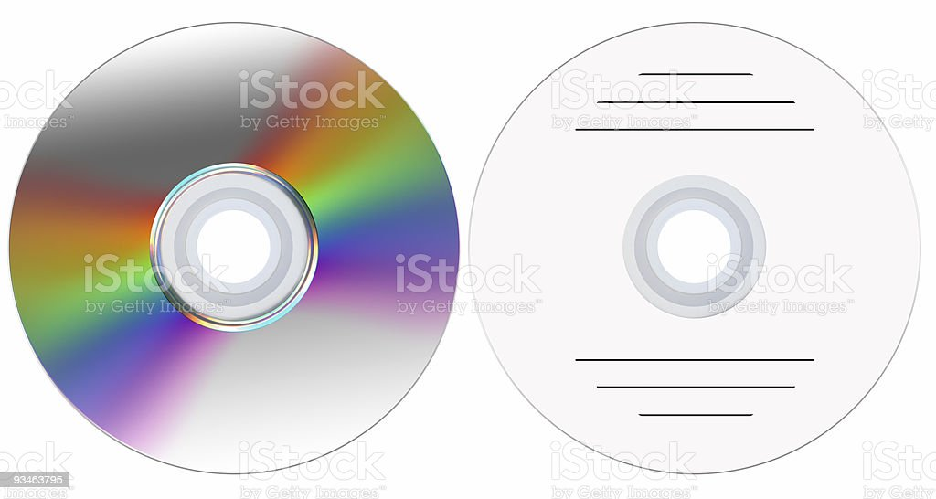 disk_DVD_CD royalty-free stock photo
