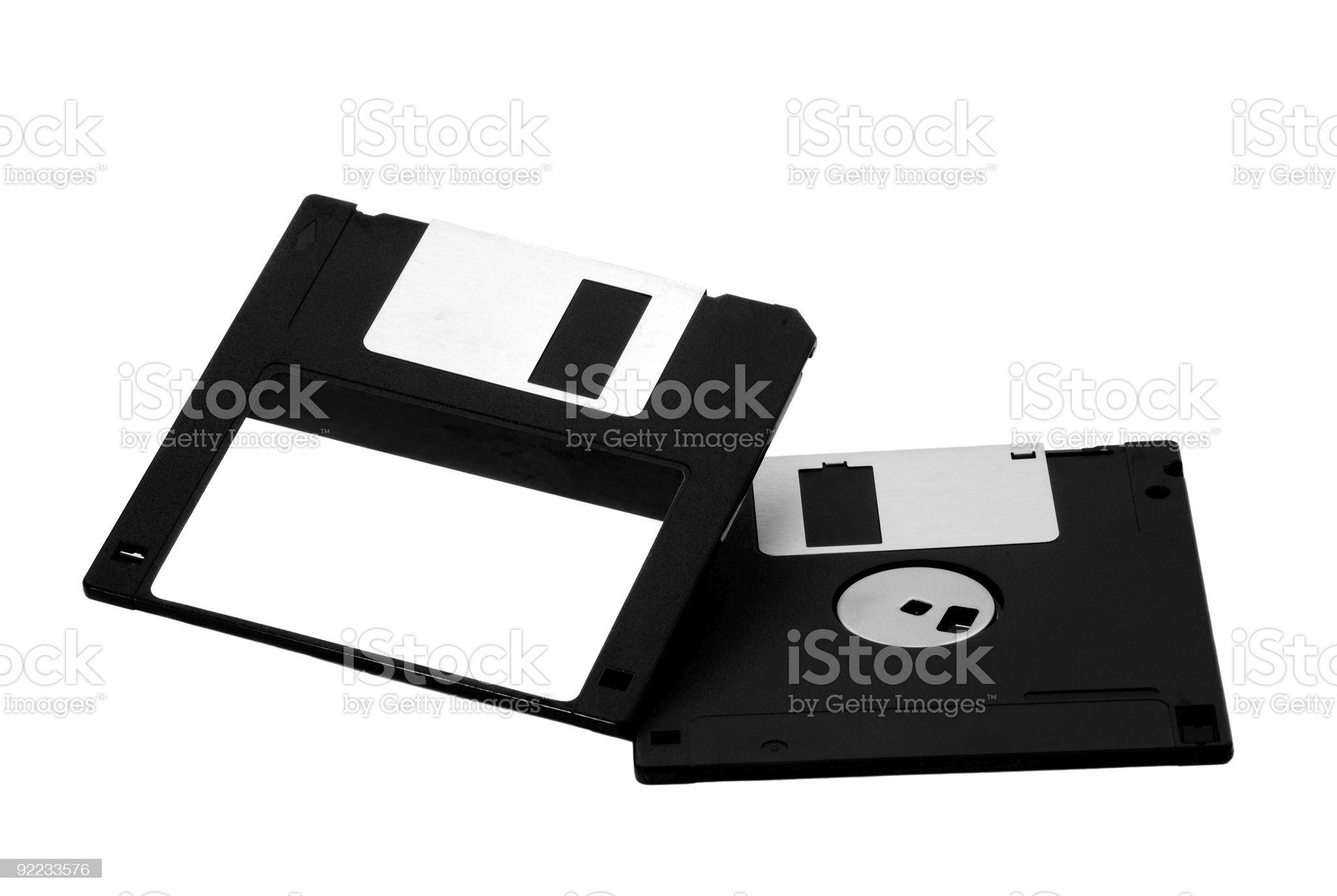 Diskette floppy disk royalty-free stock photo
