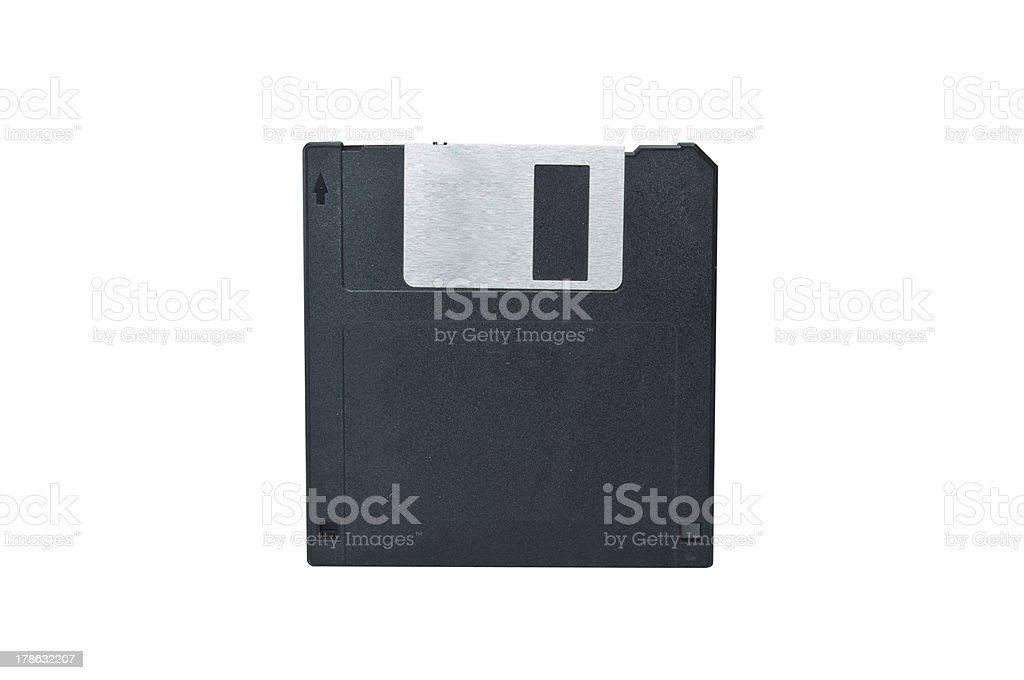 Diskette royalty-free stock photo