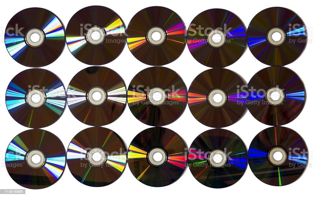 DVD disks royalty-free stock photo
