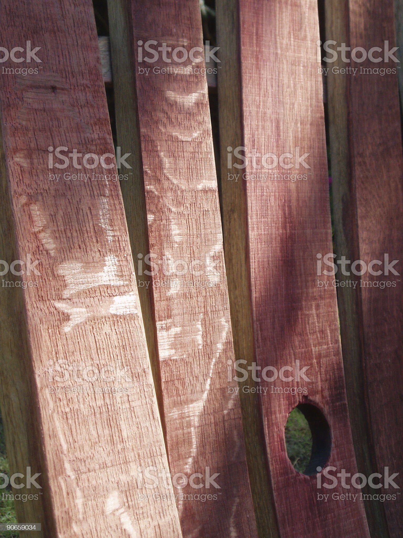 dismantled barrel of Bordeaux wine royalty-free stock photo