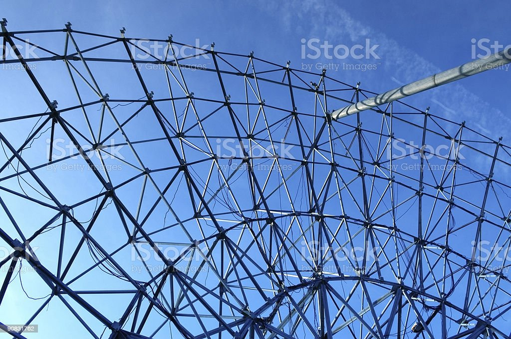 Dismantled Dish royalty-free stock photo