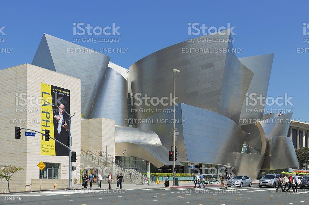 Disney Concert Hall - Los Angeles stock photo