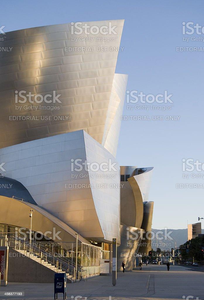 Disney Concert Hall stock photo