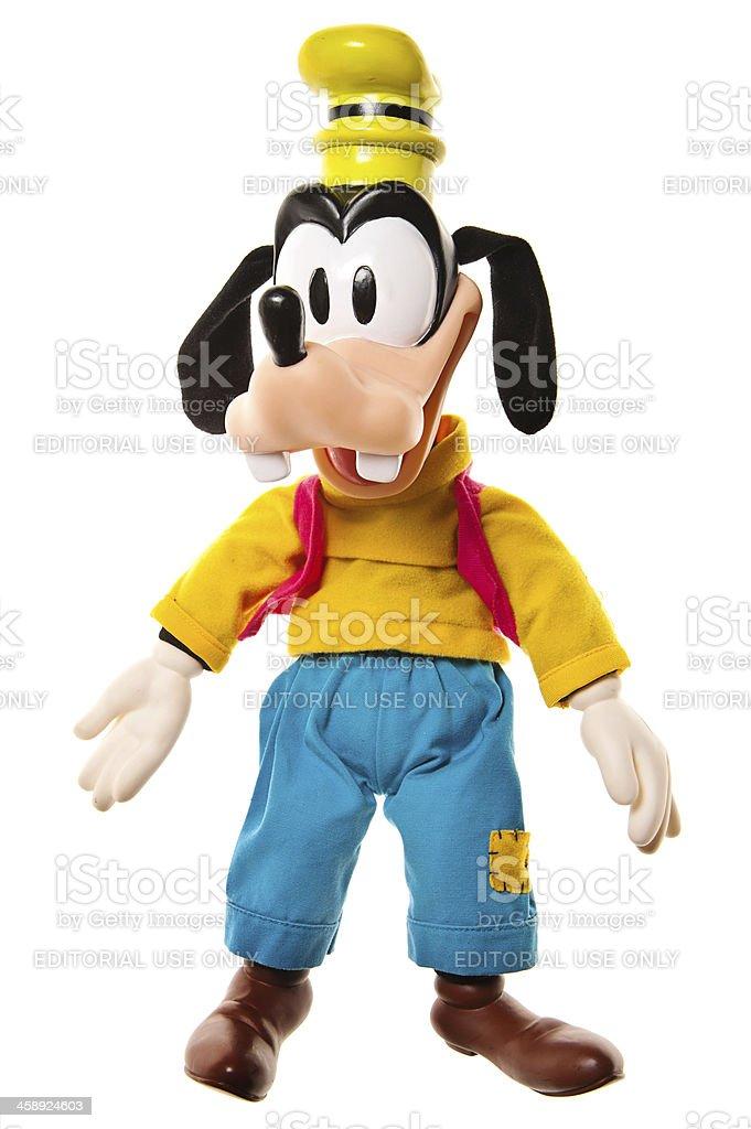 Disney Goofy Toy Standing stock photo