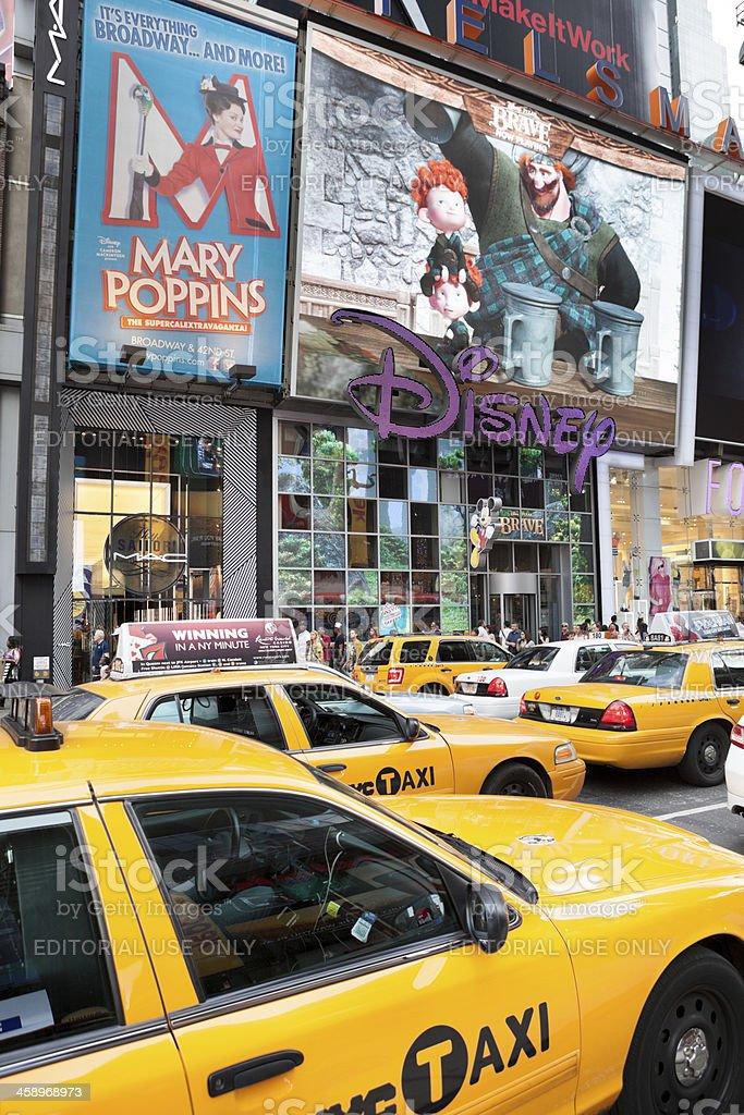 Disney Store New York City stock photo