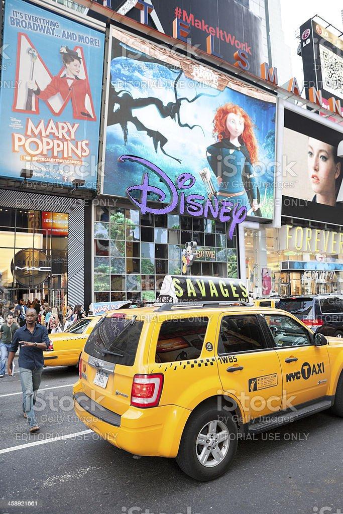 Disney Store stock photo