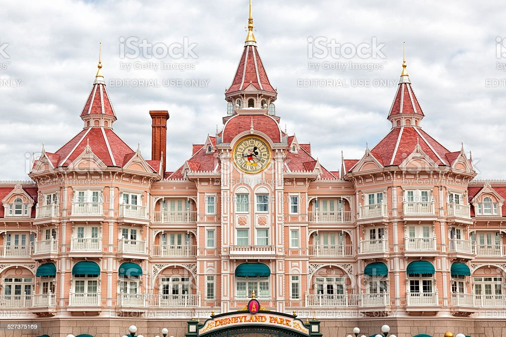 Disneyland hotel stock photo