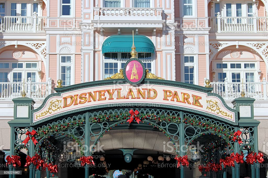 Disneyland Park stock photo