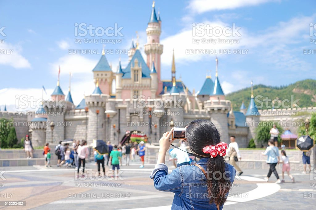 Disneyland stock photo