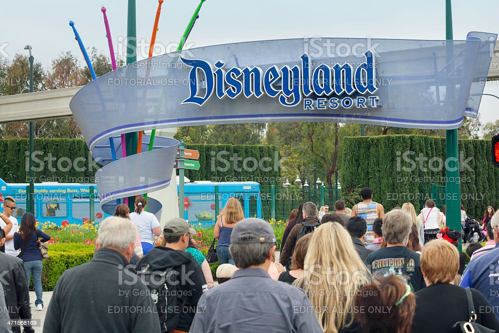 Disneyland Resort, California royalty-free stock photo