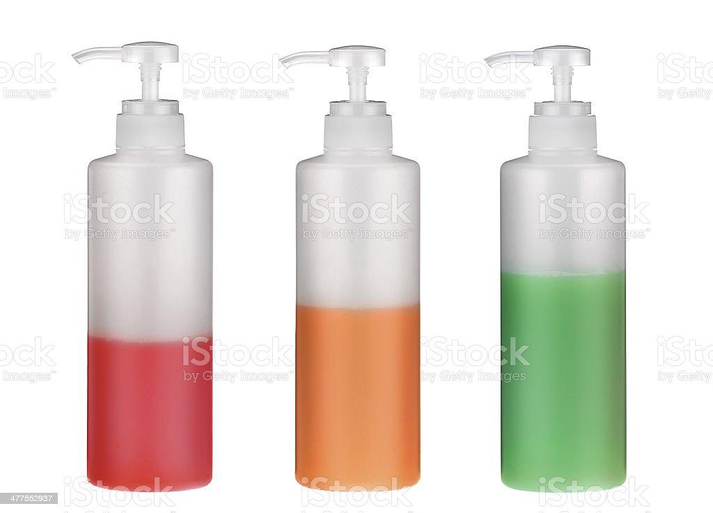 Dispenser Bottles stock photo