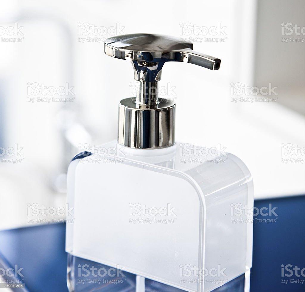 Dispenser stock photo