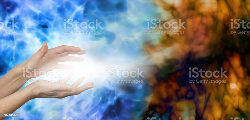 Dispersing Negative Energies stock photo