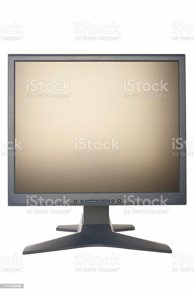 LCD display royalty-free stock photo