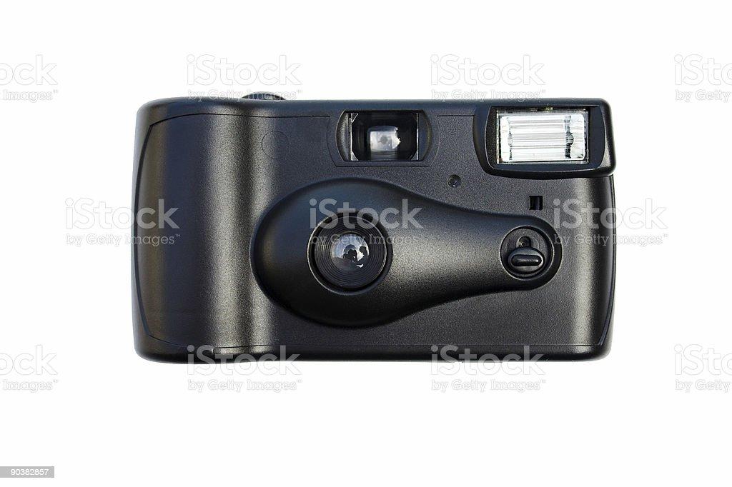 Disposable camera stock photo