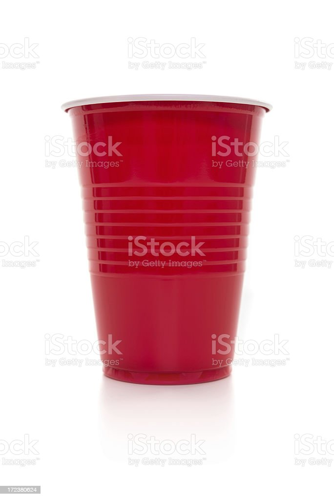 Disposable coffee/tea cup stock photo