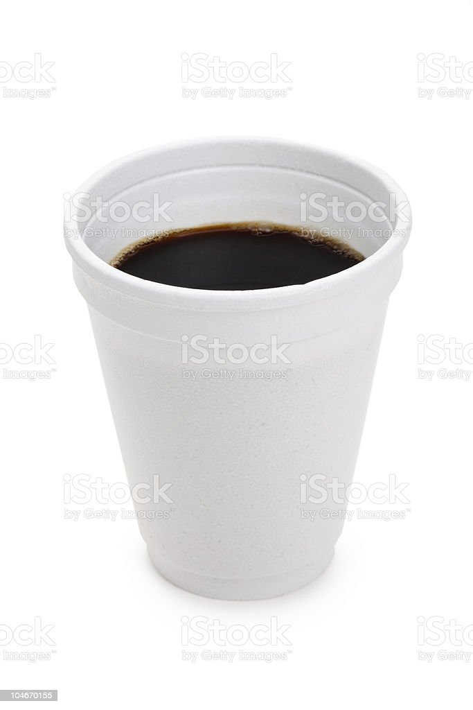 Disposable Cup royalty-free stock photo