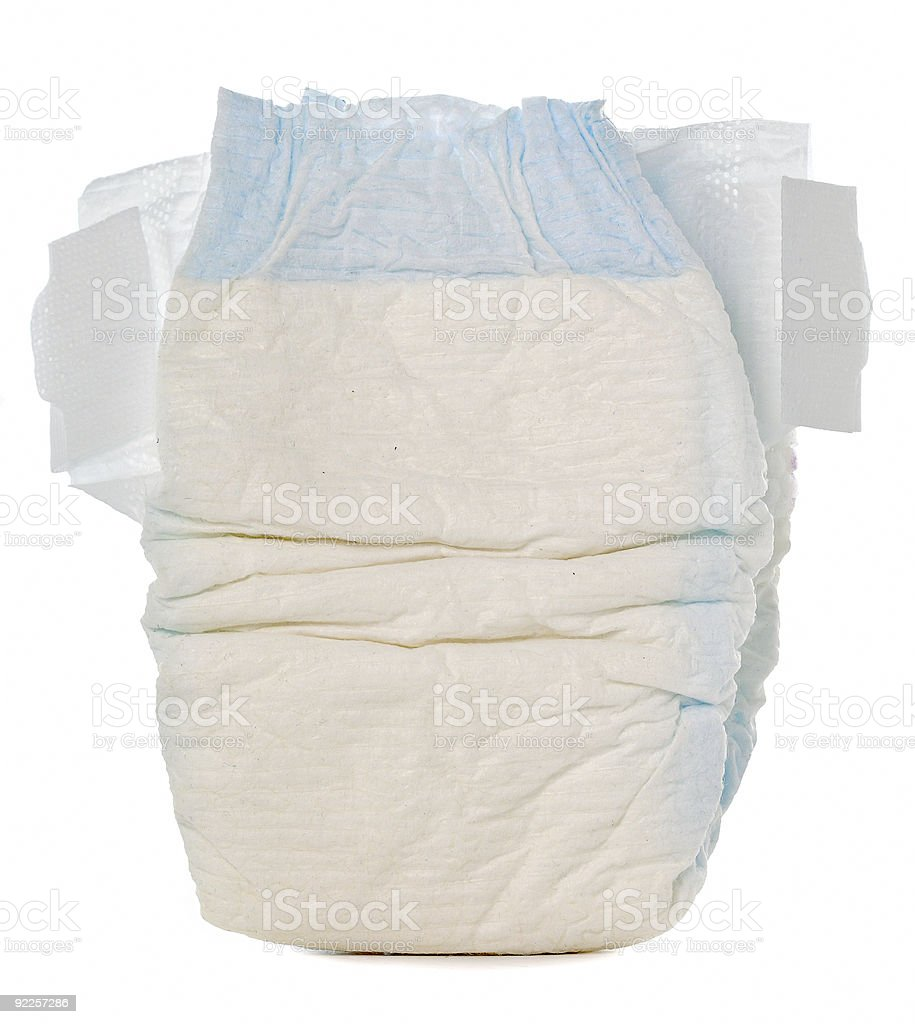 Disposable Diaper stock photo