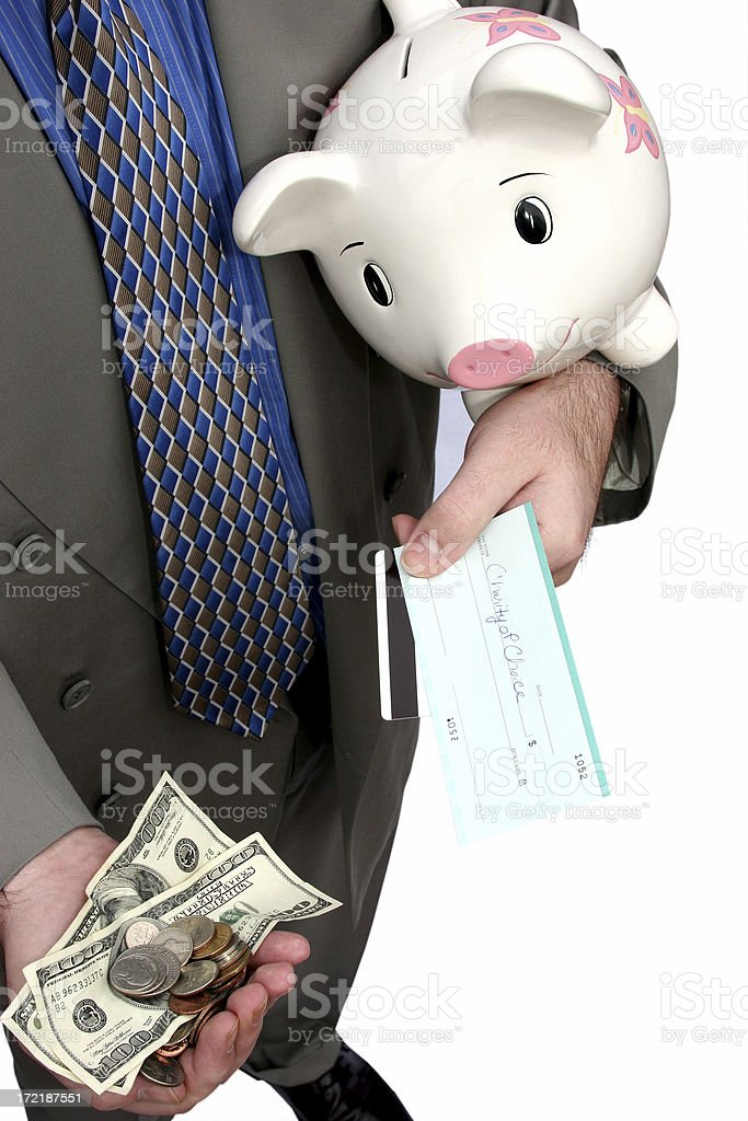 Disposable Income Isolated Vertical stock photo