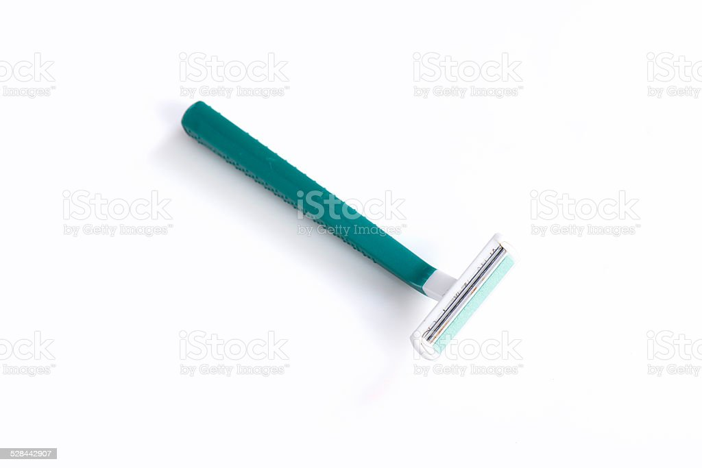 disposable razor stock photo